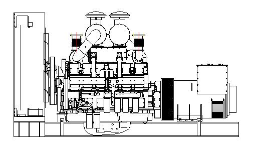 728kw康明斯柴油发电机组