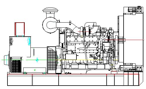 250kw康明斯发电机组